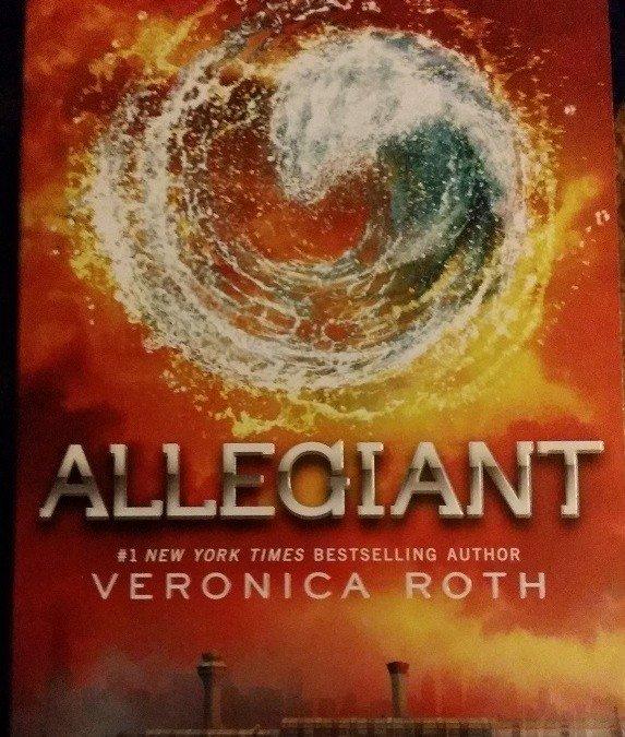 Booktalk Allegiant By Veronica Roth