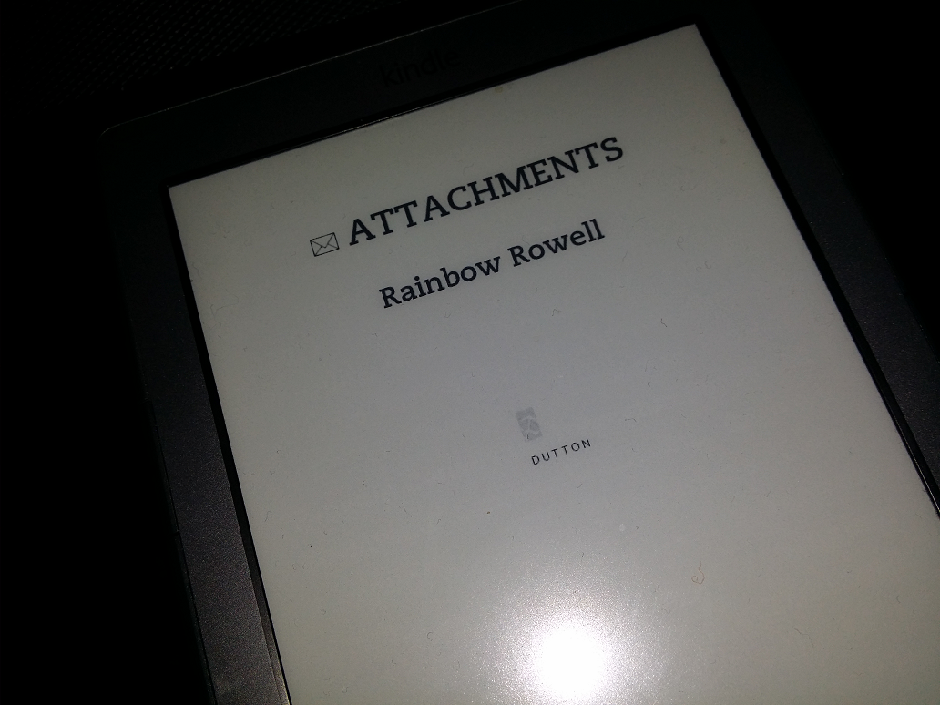 """Attachements"" by Rainbow Rowell"