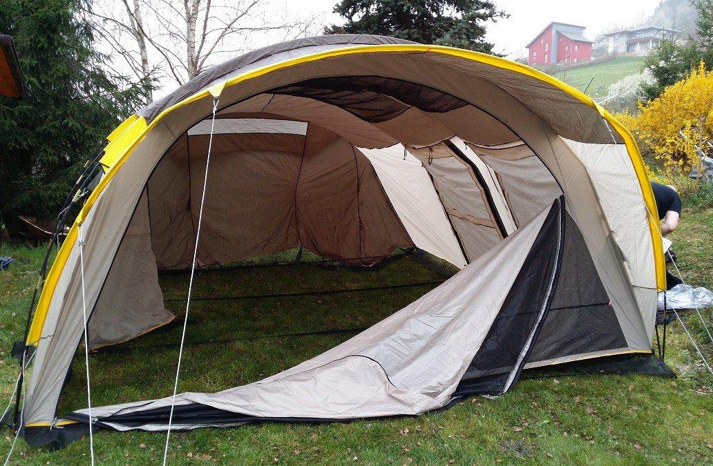 Reviewing a Tent: Quechua T6.2 XL Air