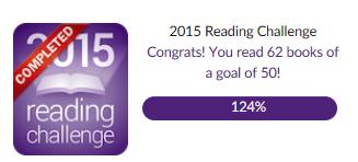 goodreads challenge 2015