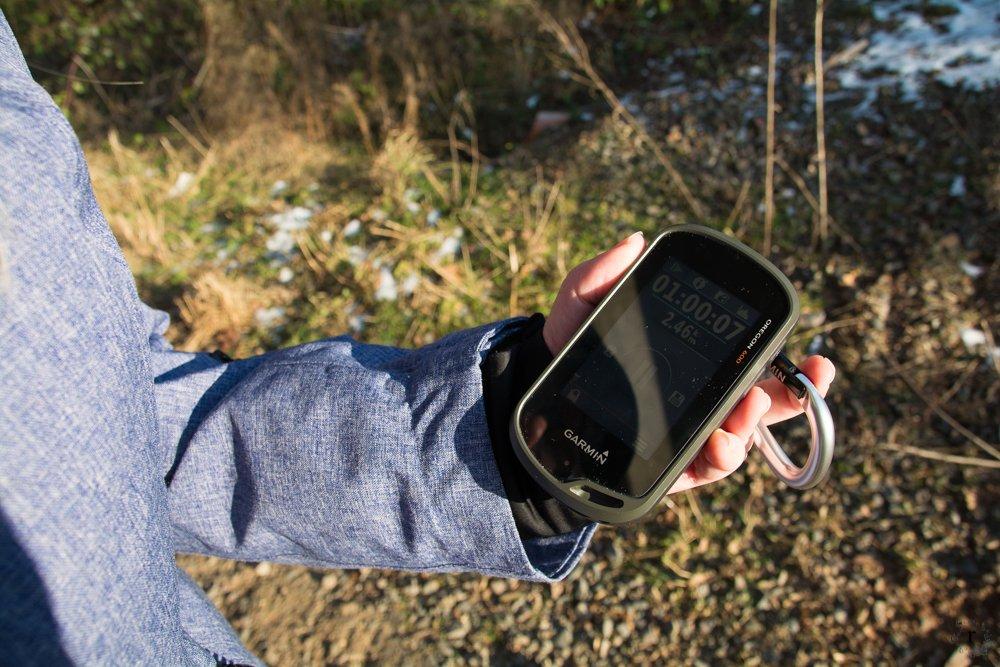 Beweisfoto | Garmin Oregon GPS | Eine Sonntagsrunde auf Glatteis um den Heinitzer Weiher | Photo Diary