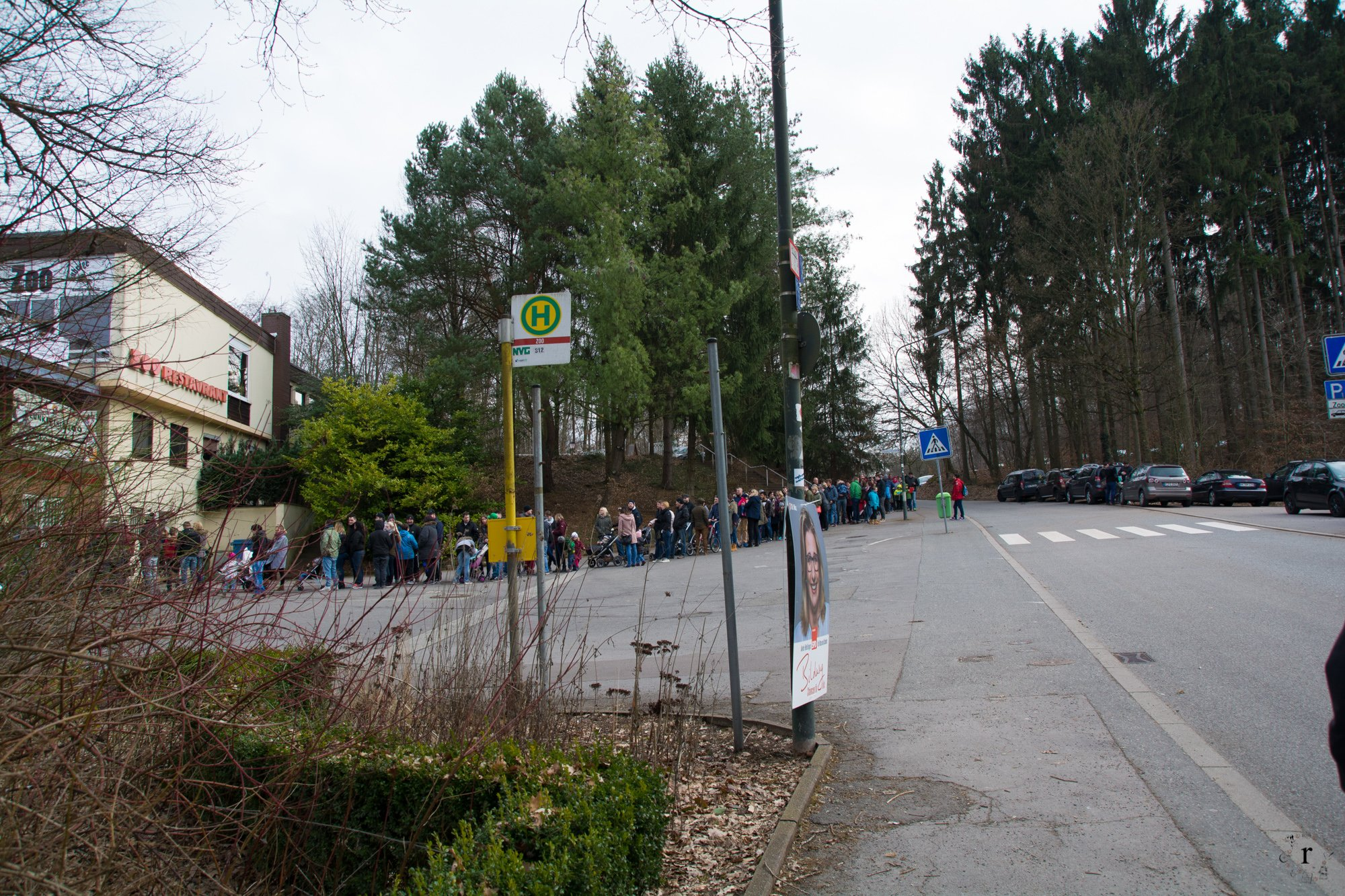Neunkircher Zoo - Eingang