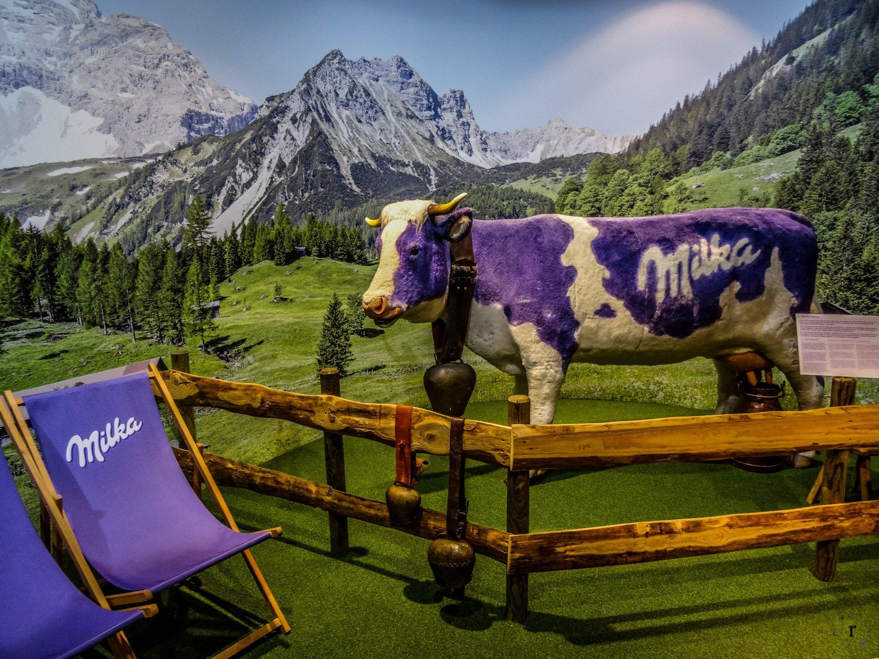 Bludenz - Milka Werksverkauf - Lädle