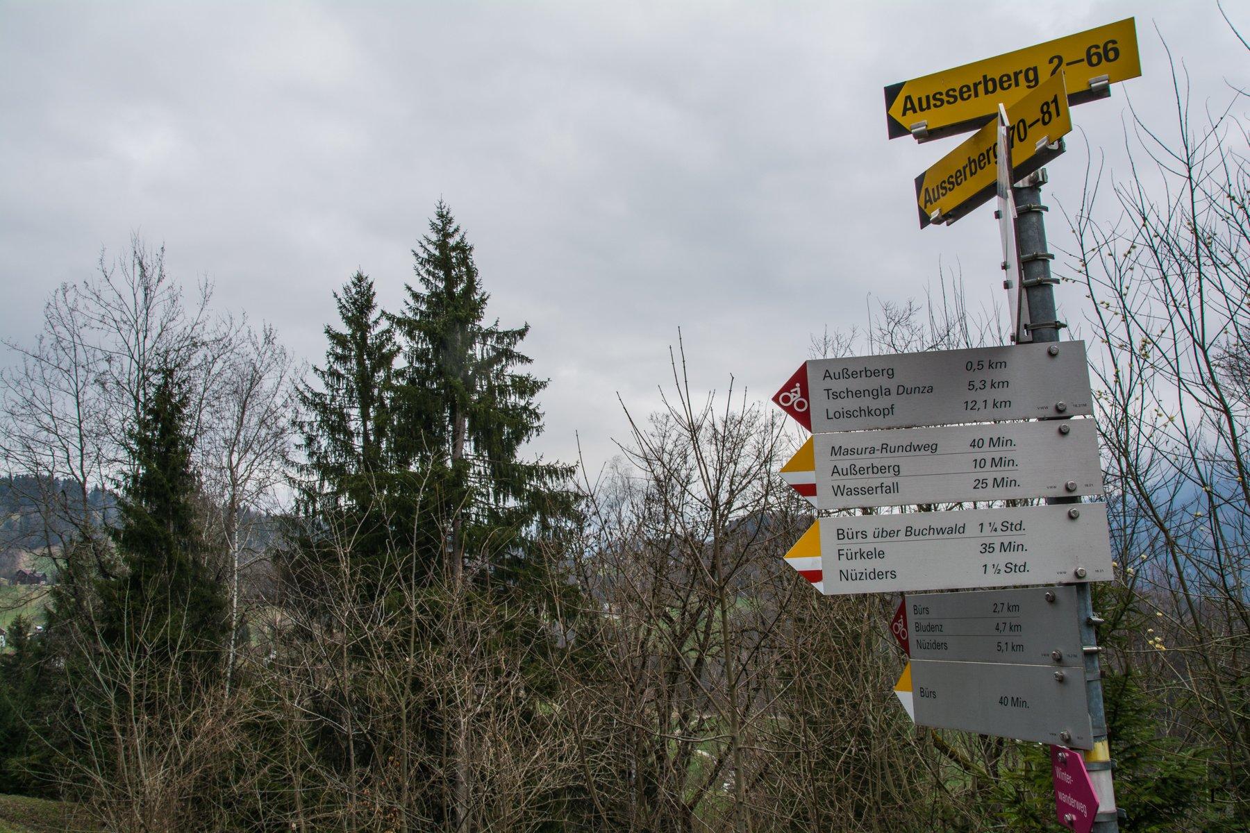 Bürserberg Wasserfall