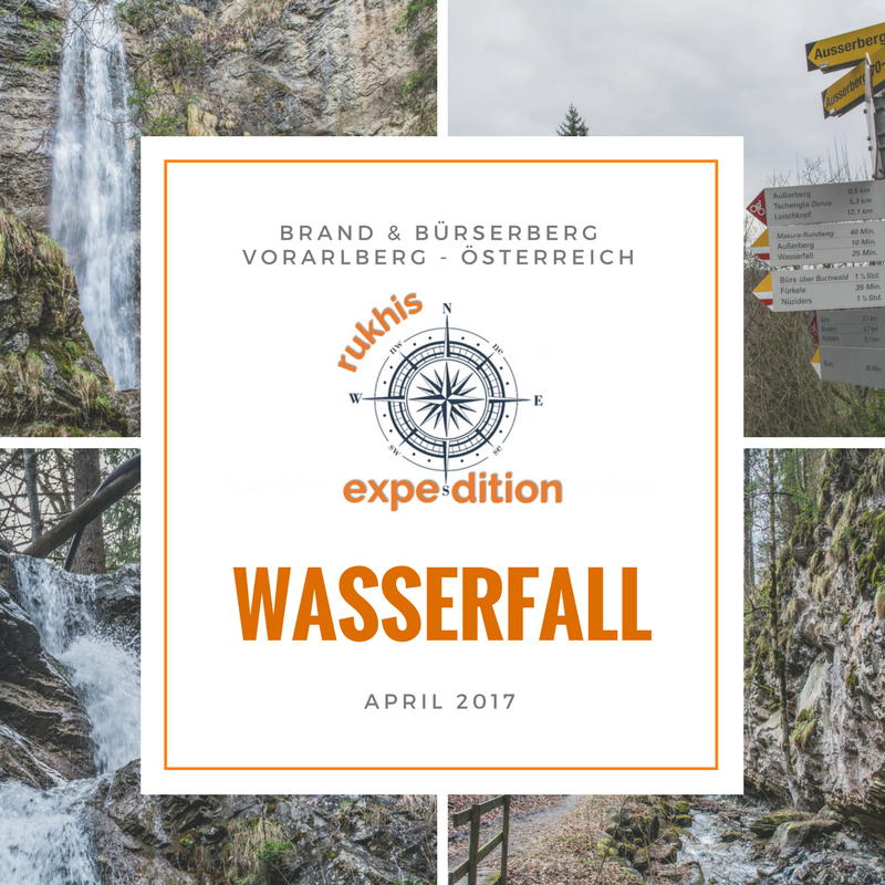 Rukhis Expedition in Österreich - April 2017 - Wasserfall