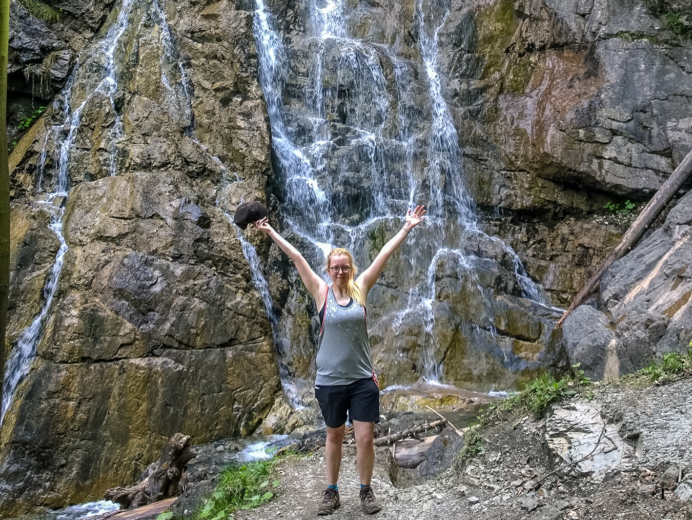 Wasserfallweg Alpspitze